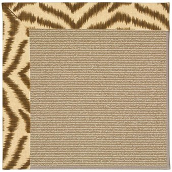 Capel Rugs Creative Concepts Sisal - Couture King Chestnut (756) Rectangle 12' x 15' Area Rug