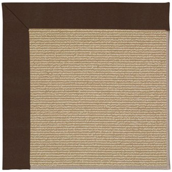 Capel Rugs Creative Concepts Sisal - Canvas Bay Brown (787) Rectangle 12' x 15' Area Rug