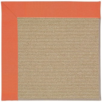 Capel Rugs Creative Concepts Sisal - Canvas Melon (817) Rectangle 12' x 15' Area Rug