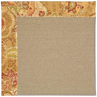 Capel Rugs Creative Concepts Sisal - Tuscan Vine Adobe (830) Rectangle 12' x 15' Area Rug