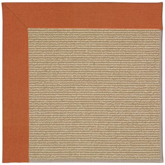 Capel Rugs Creative Concepts Sisal - Canvas Rust (837) Rectangle 12' x 15' Area Rug