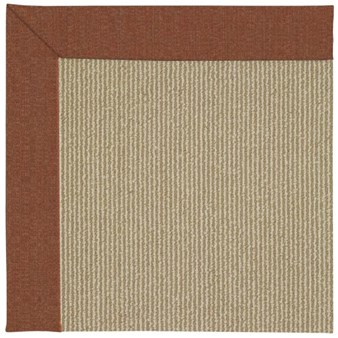Capel Rugs Creative Concepts Sisal - Linen Chili (845) Rectangle 12' x 15' Area Rug