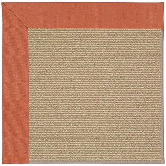 Capel Rugs Creative Concepts Sisal - Canvas Persimmon (847) Rectangle 12' x 15' Area Rug