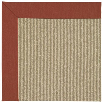 Capel Rugs Creative Concepts Sisal - Canvas Brick (850) Rectangle 12' x 15' Area Rug
