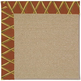 Capel Rugs Creative Concepts Sisal - Bamboo Cinnamon (856) Rectangle 12' x 15' Area Rug