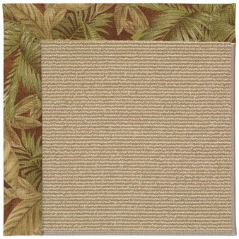 Capel Rugs Creative Concepts Sisal - Bahamian Breeze Cinnamon (875) Rectangle 12' x 15' Area Rug