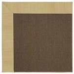 Capel Rugs Creative Concepts Java Sisal - Dupione Bamboo (100) Octagon 4' x 4' Area Rug