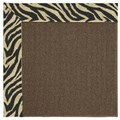 Capel Rugs Creative Concepts Java Sisal - Wild Thing Onyx (396) Octagon 4