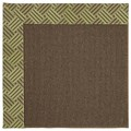 Capel Rugs Creative Concepts Java Sisal - Dream Weaver Marsh (211) Octagon 6