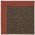 Capel Rugs Creative Concepts Java Sisal - Canvas Brick (850) Octagon 8