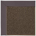 Capel Rugs Creative Concepts Java Sisal - Fife Plum (470) Octagon 10