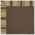 Capel Rugs Creative Concepts Java Sisal - Java Journey Chestnut (750) Octagon 10