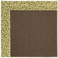Capel Rugs Creative Concepts Java Sisal - Coral Cascade Avocado (225) Octagon 12