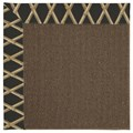 Capel Rugs Creative Concepts Java Sisal - Bamboo Coal (356) Octagon 12