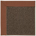 Capel Rugs Creative Concepts Java Sisal - Linen Chili (845) Octagon 12