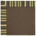 Capel Rugs Creative Concepts Java Sisal - Vera Cruz Coal (350) Runner 2