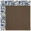 Capel Rugs Creative Concepts Java Sisal - Batik Indigo (415) Rectangle 3