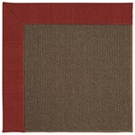 Capel Rugs Creative Concepts Java Sisal - Canvas Cherry (537) Rectangle 3' x 5' Area Rug