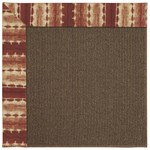 Capel Rugs Creative Concepts Java Sisal - Java Journey Henna (580) Rectangle 3' x 5' Area Rug