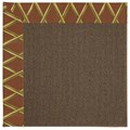 Capel Rugs Creative Concepts Java Sisal - Bamboo Cinnamon (856) Rectangle 5