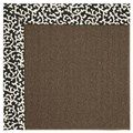 Capel Rugs Creative Concepts Java Sisal - Coral Cascade Ebony (385) Rectangle 6
