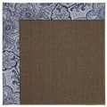Capel Rugs Creative Concepts Java Sisal - Paddock Shawl Indigo (475) Rectangle 6