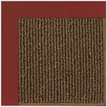 Capel Rugs Creative Concepts Java Sisal - Dupione Henna (585) Rectangle 7' x 9' Area Rug