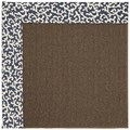 Capel Rugs Creative Concepts Java Sisal - Coral Cascade Navy (450) Rectangle 8