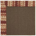 Capel Rugs Creative Concepts Java Sisal - Java Journey Henna (580) Rectangle 9