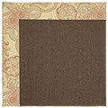 Capel Rugs Creative Concepts Java Sisal - Paddock Shawl Persimmon (810) Rectangle 9