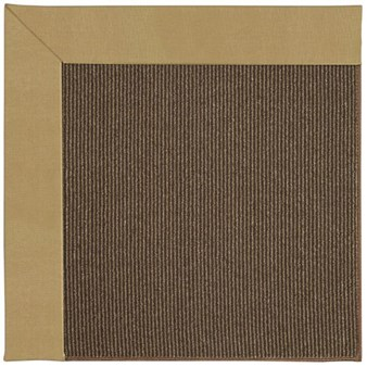Capel Rugs Creative Concepts Java Sisal - Canvas Brass (180) Rectangle 12' x 15' Area Rug