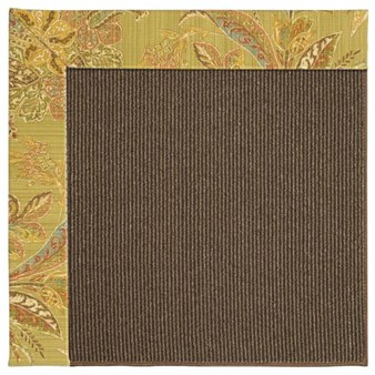 Capel Rugs Creative Concepts Java Sisal - Cayo Vista Tea Leaf (210) Rectangle 12' x 15' Area Rug