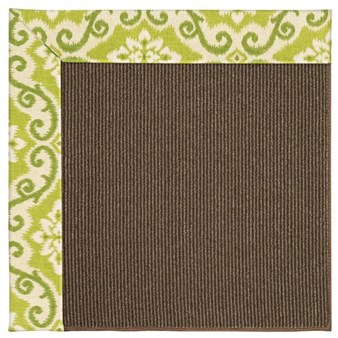 Capel Rugs Creative Concepts Java Sisal - Shoreham Kiwi (220) Rectangle 12' x 15' Area Rug