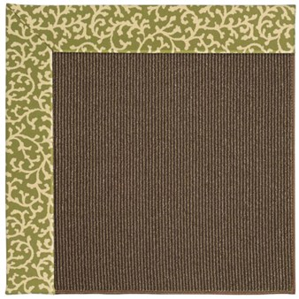 Capel Rugs Creative Concepts Java Sisal - Coral Cascade Avocado (225) Rectangle 12' x 15' Area Rug