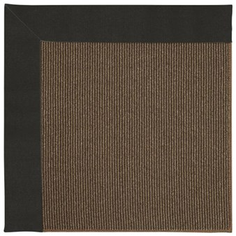 Capel Rugs Creative Concepts Java Sisal - Canvas Black (314) Rectangle 12' x 15' Area Rug