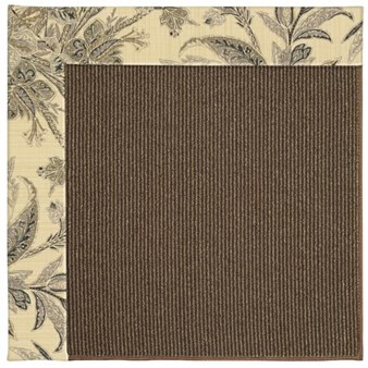Capel Rugs Creative Concepts Java Sisal - Cayo Vista Graphic (315) Rectangle 12' x 15' Area Rug