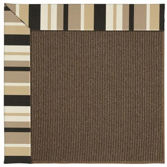 Capel Rugs Creative Concepts Java Sisal - Granite Stripe (335) Rectangle 12' x 15' Area Rug