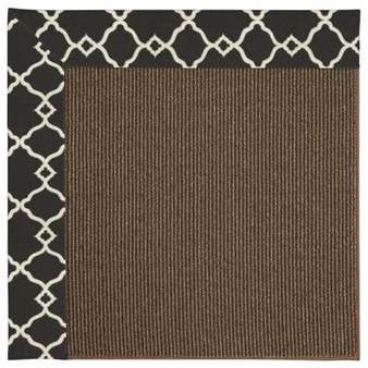 Capel Rugs Creative Concepts Java Sisal - Arden Black (346) Rectangle 12' x 15' Area Rug