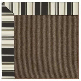 Capel Rugs Creative Concepts Java Sisal - Down The Lane Ebony (370) Rectangle 12' x 15' Area Rug