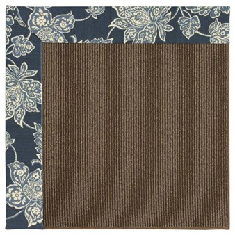 Capel Rugs Creative Concepts Java Sisal - Bandana Indigo Blue (465) Rectangle 12' x 15' Area Rug