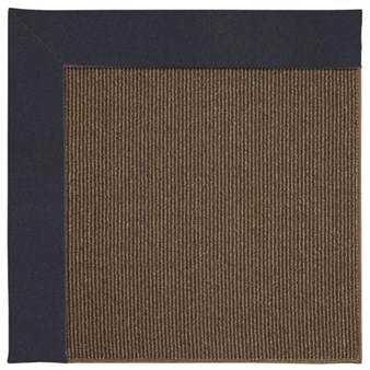 Capel Rugs Creative Concepts Java Sisal - Canvas Navy (497) Rectangle 12' x 15' Area Rug