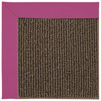 Capel Rugs Creative Concepts Java Sisal - Canvas Hot Pink (515) Rectangle 12' x 15' Area Rug