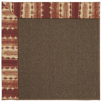 Capel Rugs Creative Concepts Java Sisal - Java Journey Henna (580) Rectangle 12' x 15' Area Rug