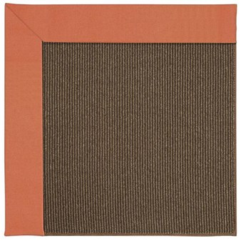 Capel Rugs Creative Concepts Java Sisal - Canvas Melon (817) Rectangle 12' x 15' Area Rug