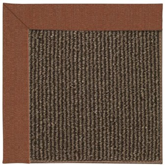 Capel Rugs Creative Concepts Java Sisal - Linen Chili (845) Rectangle 12' x 15' Area Rug