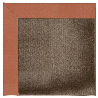 Capel Rugs Creative Concepts Java Sisal - Canvas Persimmon (847) Rectangle 12' x 15' Area Rug