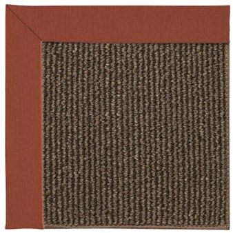 Capel Rugs Creative Concepts Java Sisal - Canvas Brick (850) Rectangle 12' x 15' Area Rug