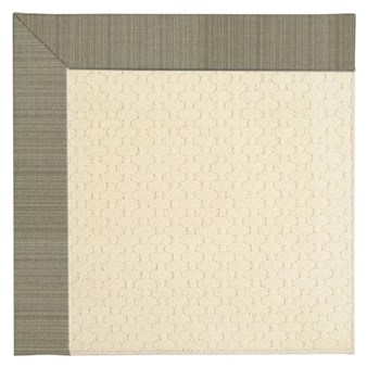 Capel Rugs Creative Concepts Sugar Mountain - Vierra Graphite (320) Octagon 4' x 4' Area Rug
