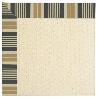 Capel Rugs Creative Concepts Sugar Mountain - Long Hill Ebony (340) Octagon 4' x 4' Area Rug