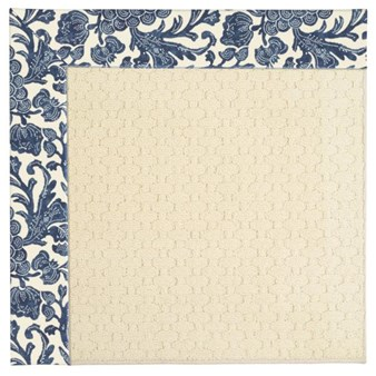 Capel Rugs Creative Concepts Sugar Mountain - Batik Indigo (415) Octagon 4' x 4' Area Rug